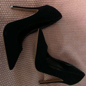Shoe Republic Velvet Heels